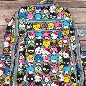 Ju-Ju-Be Be Right Back Backpack- Hello Friends